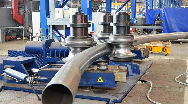 Гибка (вальцовка) металлических труб